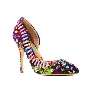 Steve Madden Galactik Multi-Color Jewel Bling Heel